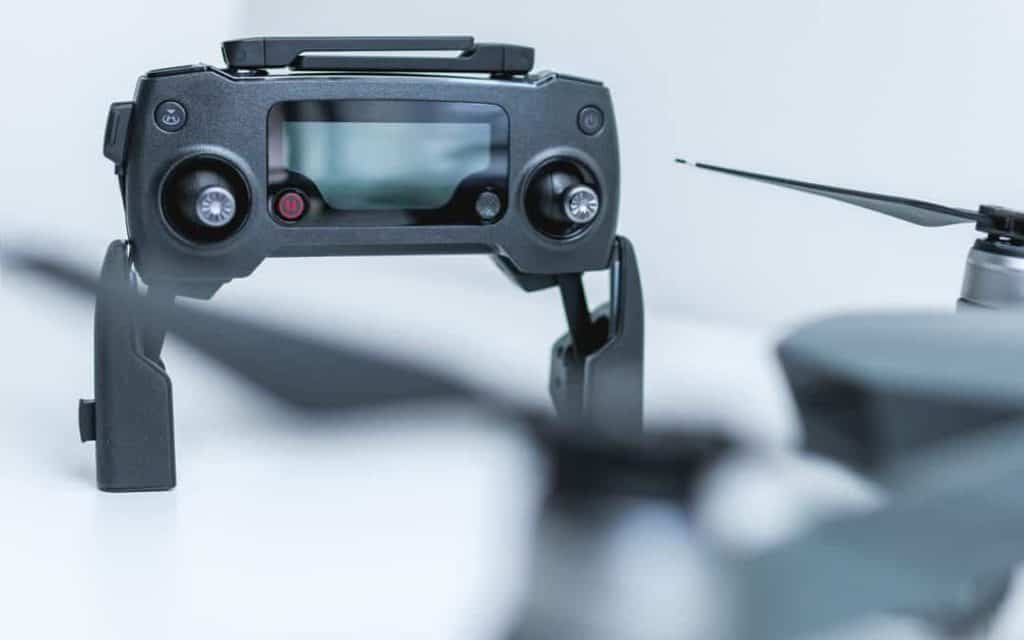 drone controller with screen