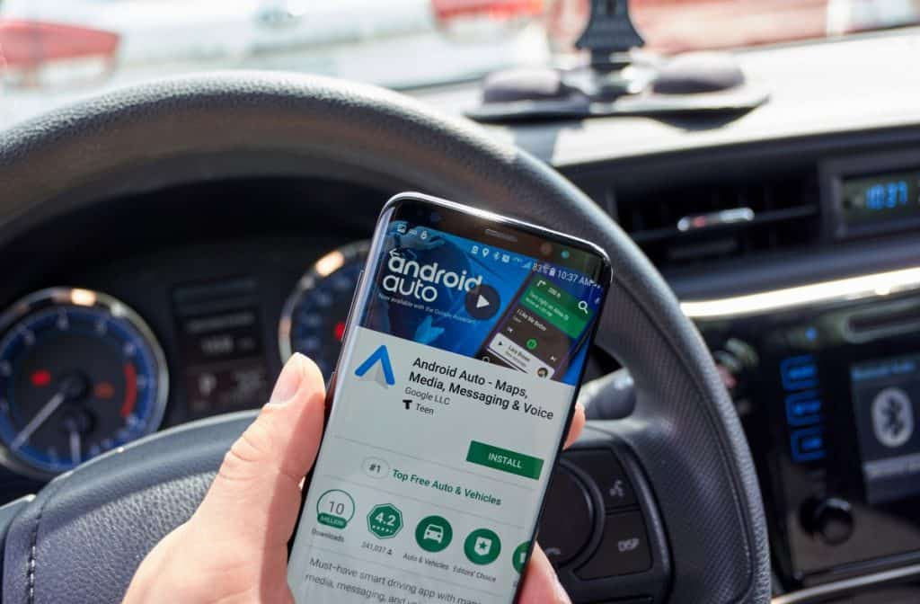 Google android Auto application