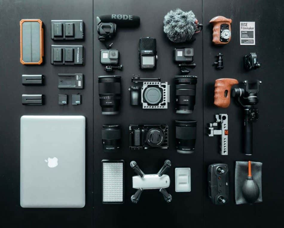 computer drone and camera kit
