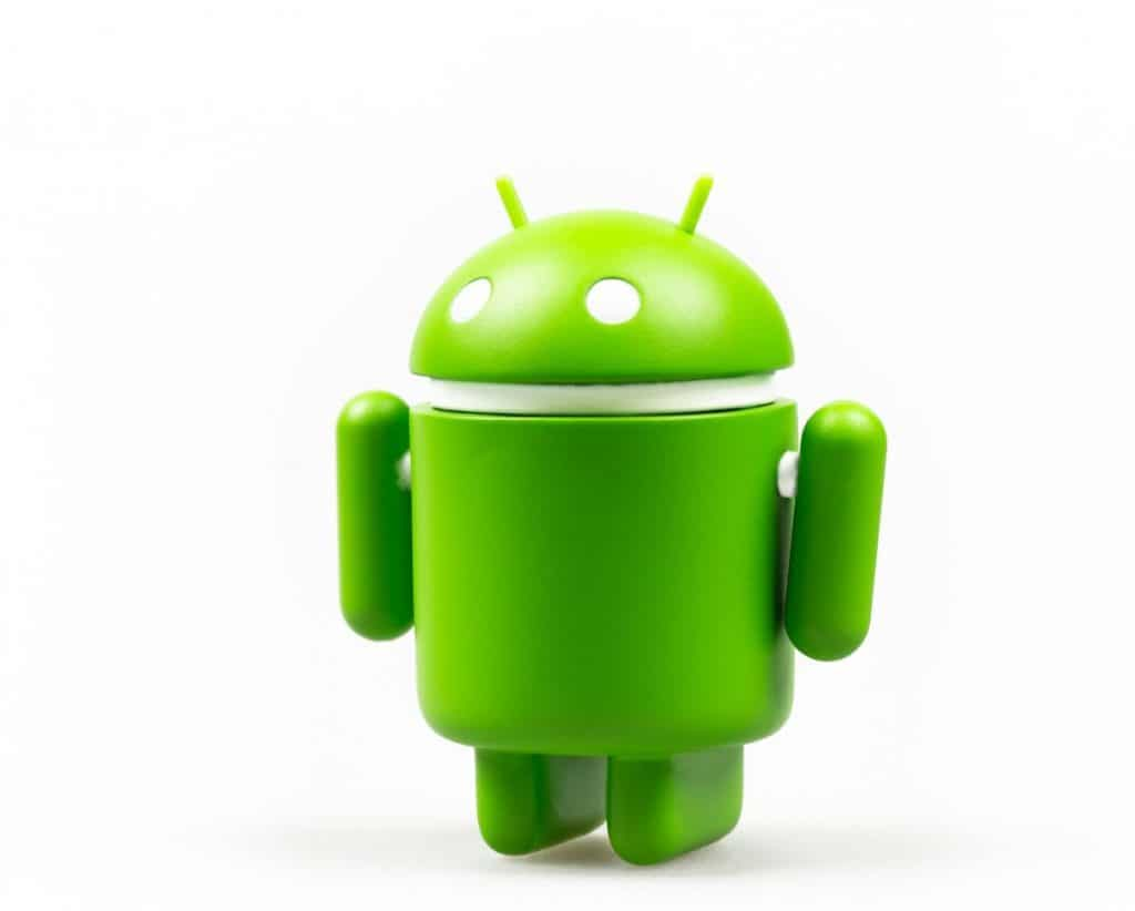 Google Android figure-symbol on white