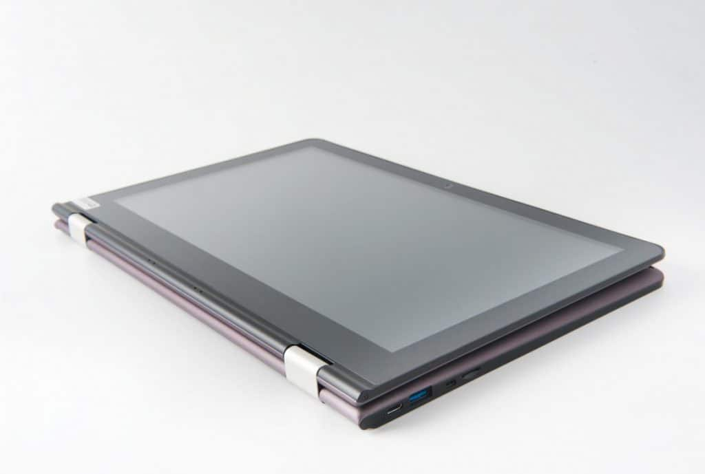 Laptop with touch screen mode