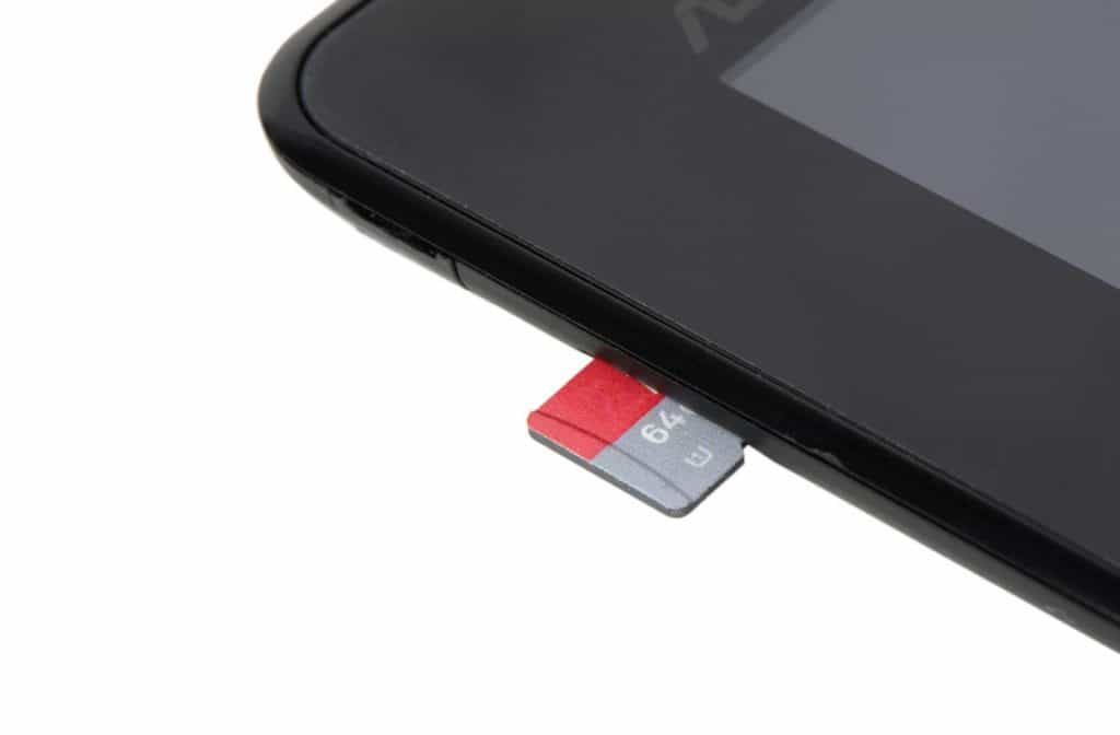 MicroSD Memory Card for Tablet