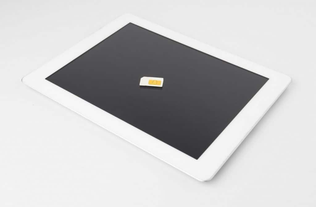 Tablet With Smartphone Sim Card
