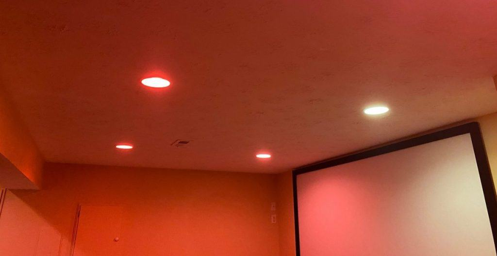 Philips Hue Lights on with multiple colors