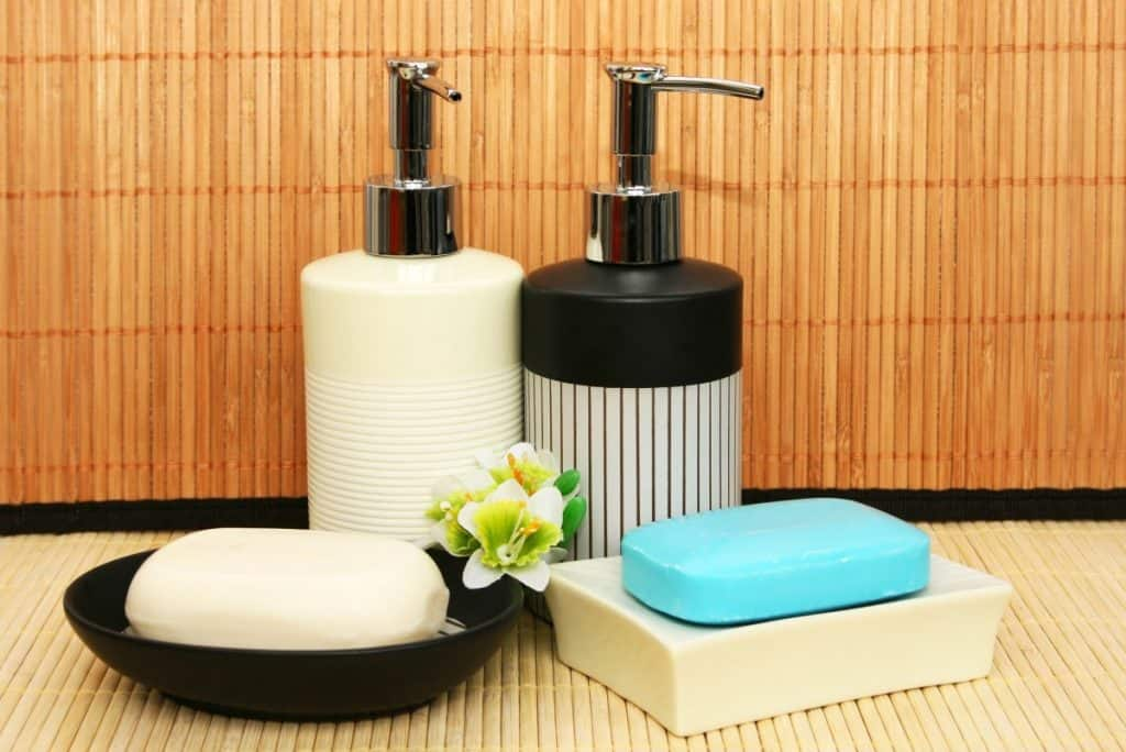 Soap dispensers and bars