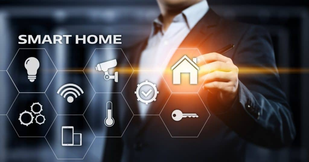 Smart home Automation Control System 2